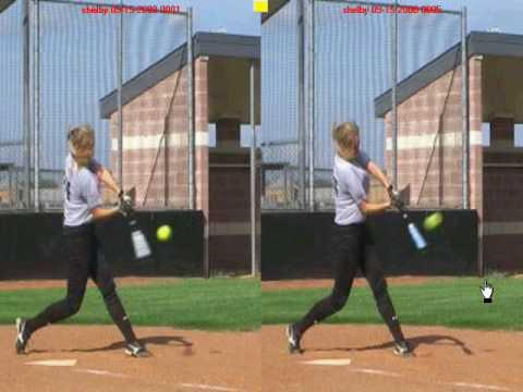 Fastpitch Softball Hitting Lesson - Shoulder Rotation - SoftballHittingOnline.com