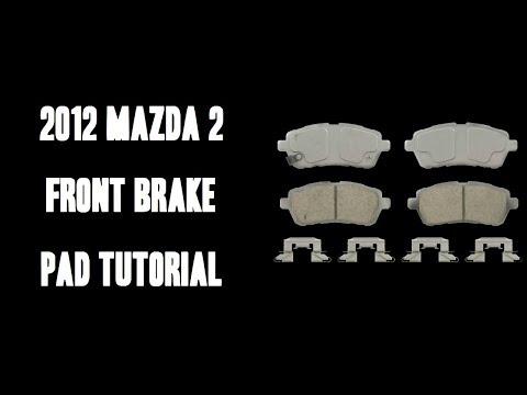 Mazda 2 Front Brake Pads Video