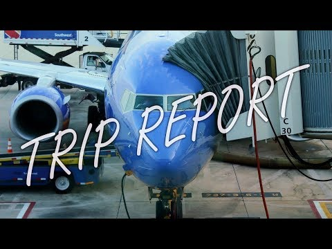 Southwest Airlines Boeing 737-800 Coach Trip Report / Flight Review [TPA to FLL]