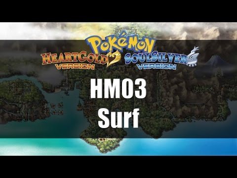 Pokemon Heart Gold & Soul Silver | Where to get HM03 Surf