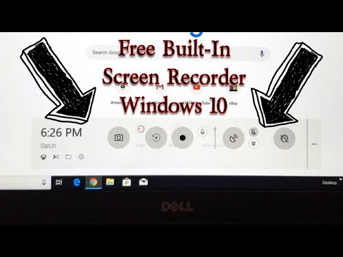 How to Record Computer Screen on Windows 10 for Free (Built in Screen Recorder)