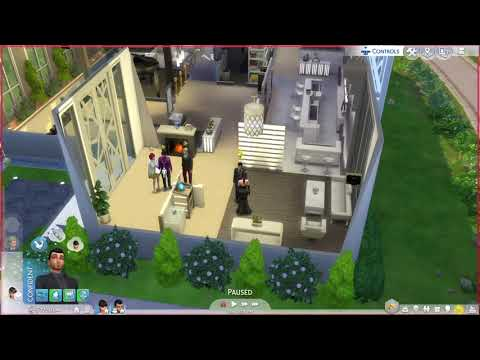 Sims 4 Glitch: Dine Out DLC MISSING EMPLOYEES 2x IN A ROW NO WAITERS OR HOSTESS