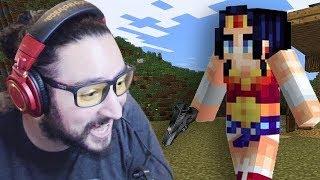 SUPER POWERS - Minecraft No Mountain Survival Mini-Series Part 5