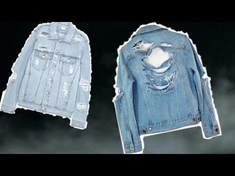 DIY | RIPPED JEAN JACKET!