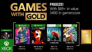 Xbox March 2018 Games With Gold