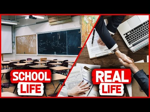 School Life Vs Real World | What You Should Know