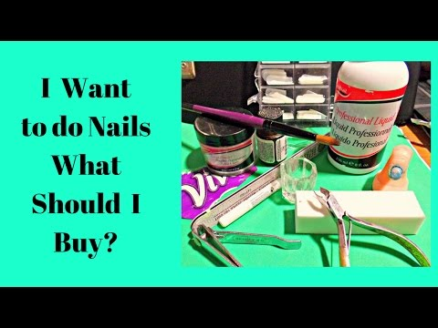 Acrylic Nail Supplies for Beginners