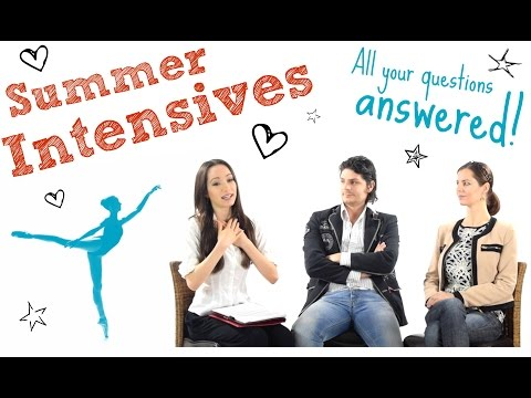 Summer Intensive 101 - All your questions answered!!