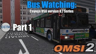 Cayuga USA Route 319 with New Flyer D60LF (DD50/ZF) - OMSI 2