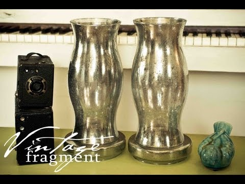 Faux Mercury Glass Tutorial