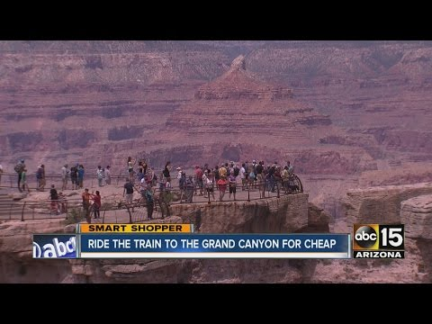 Ride the train to Grand Canyon, stay at hotel for great price