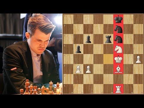 Highest Rated Man vs Highest Rated Woman pt. 2 | Carlsen vs Hou Yifan | Grenke Chess Classic 2018.