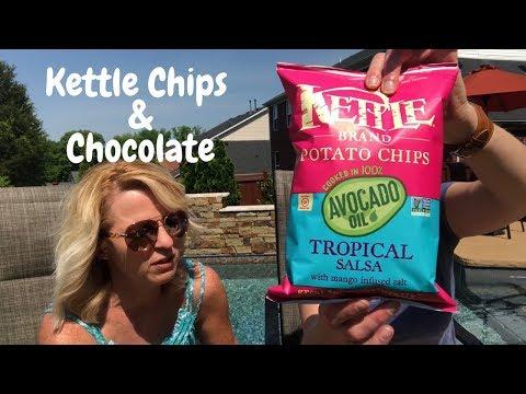 Kettle Brand Chips & Divine Chocolate Taste Test