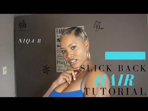 SLICK BACK | SHORT HAIR TUTORIAL