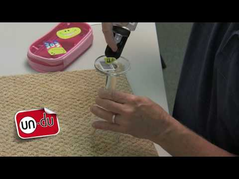 How to remove stickers from wine glasses or drinking glasses