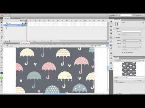 Creating a Mask: Flash CS5