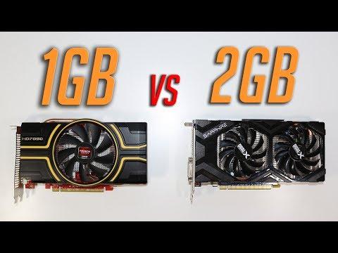 Does More Vram Equal More FPS? (1GB vs 2GB)