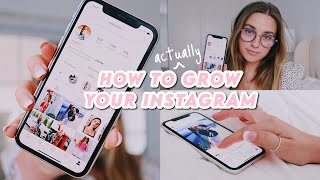 how i DOUBLED my instagram growth + engagement !! (grow organically & fast)
