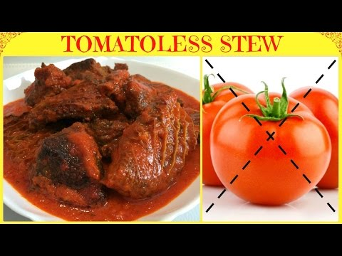 How to Make Nigerian Tomato-less Stew | Tomato-less Assorted Meat Stew | Nigerian Stew Recipe