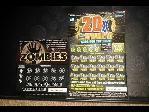 Zombies and 20x the Money Scratchers