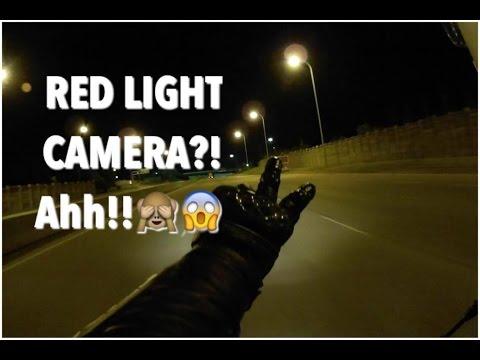 Speeding through a Red light Camera? Damn you!
