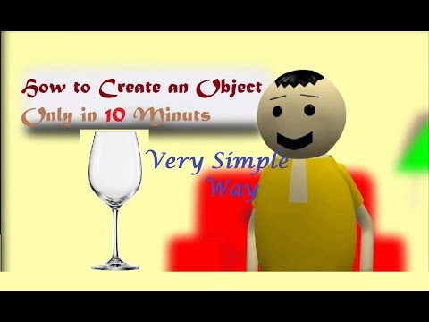 Blender Tutorial - Simple way to Create Objects