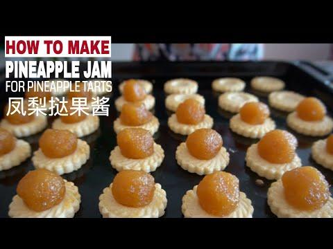 Spiced Pineapple Jam (Pineapple Tart Filling)