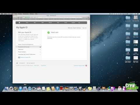 Apple Quick Tip - Reset Apple ID Security Questions