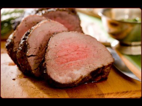 Chargrilled Beef Tenderloin & Cauliflower Steak Recipe