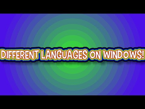 How to Install Different Languages on Windows PC/Laptop!