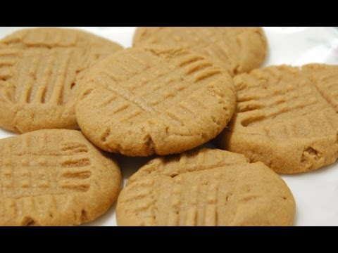 Peanut Butter Cookies | One Pot Chef