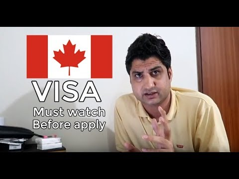 Canada Visa: Must Watch Before Applying Canada Visa