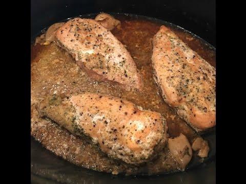21 Day Fix Garlic Chicken in the Crock Pot