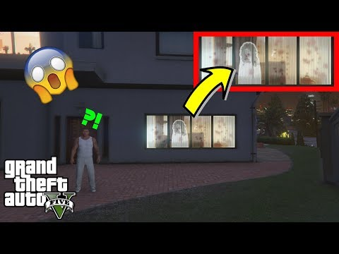 Download GTA 5 - This SCARY HAUNTED HOUSE is HAUNTED by a GHOST