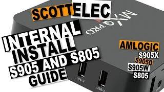 SCOTTELEC INSTALL TO INTERNAL AMLOGIC S805 S905: LibreELEC Multi