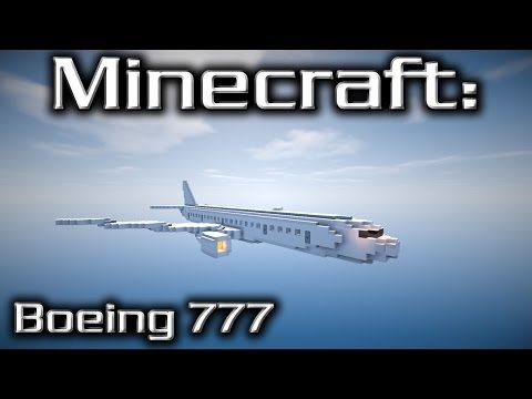 Minecraft: Boeing 777 Tutorial