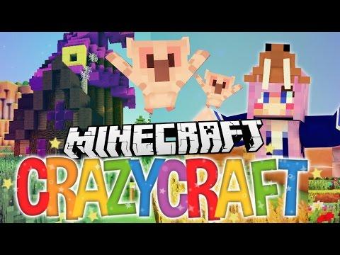 Pet Owls!   Ep 39   Minecraft Crazy Craft 3.0