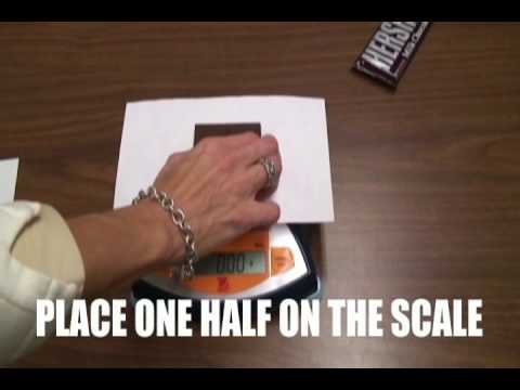 Measuring the Density of a Chocolate Bar
