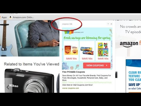 How to remove Ads by coupoon popup virus(Coupon ads removal guide)