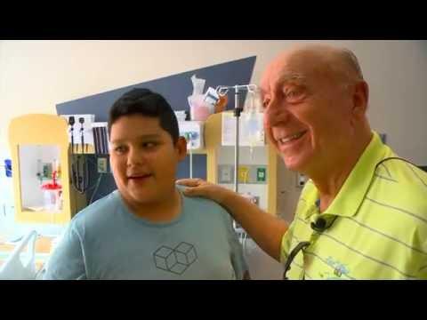 Dick Vitale at Blank Children's Hospital