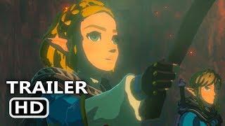 ZELDA Breath Of The Wild 2 Official Trailer (2020) E3 2019 Nintendo Game HD