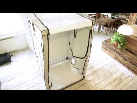 HOMEbox growbox Ambient Q120   szybkie rozkładanie growboxa