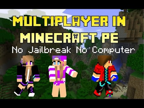 how to play multiplayer in minecraft pe iOS No Jailbreak no computer