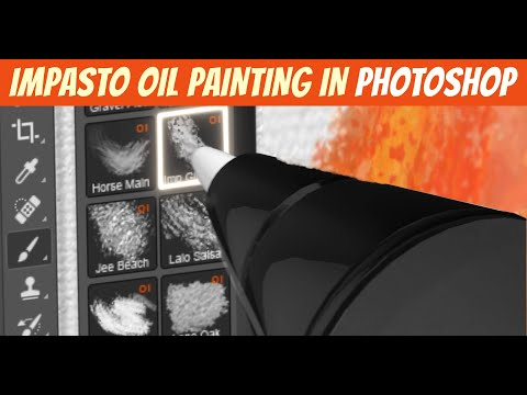 Impasto Oil Painting in Photoshop - Quick Tips 01