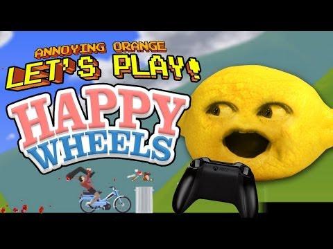 Annoying orange let 39 s play goat simulator 2 vidoemo - Let s play happy wheels ...