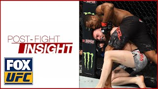 Geoff Neal breaks down his bulldog submission victory over Brian Camozzi | POST-FIGHT INSIGHT