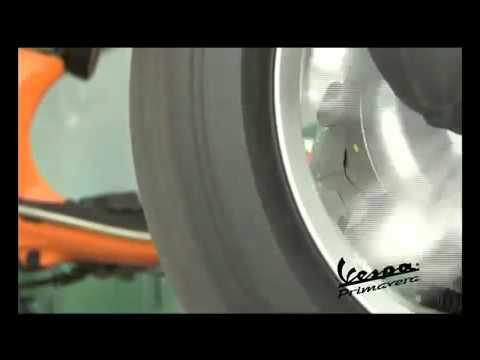 Chạy roda xe Vespa Primavera 125 3v ie