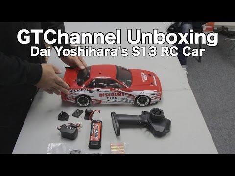 Unboxing: Drift RC Car HPI Racing E10 - Dai Yoshihara Discount Tire Falken Tire S13