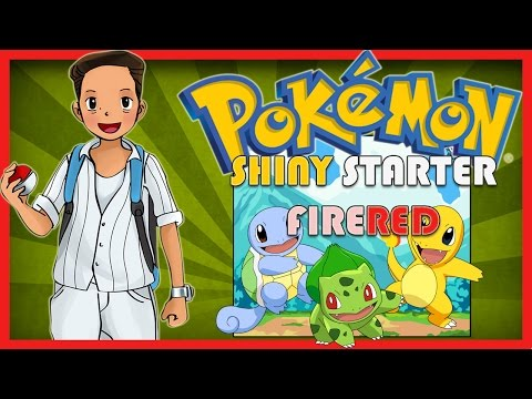 Get Shiny Starter Pokemon on FireRed Easiest Trick with Cheat - No Bad Eggs