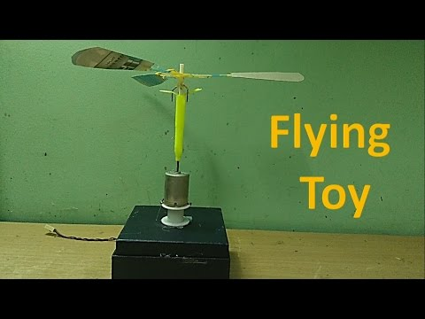 How to make a simple flying toy